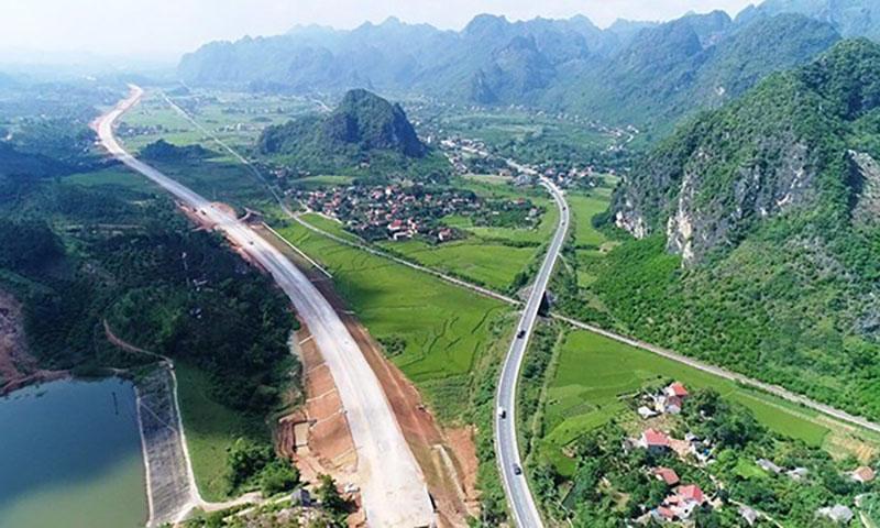 Triển khai dự án tuyến đường cao tốc Đồng Đăng – Trà Lĩnh