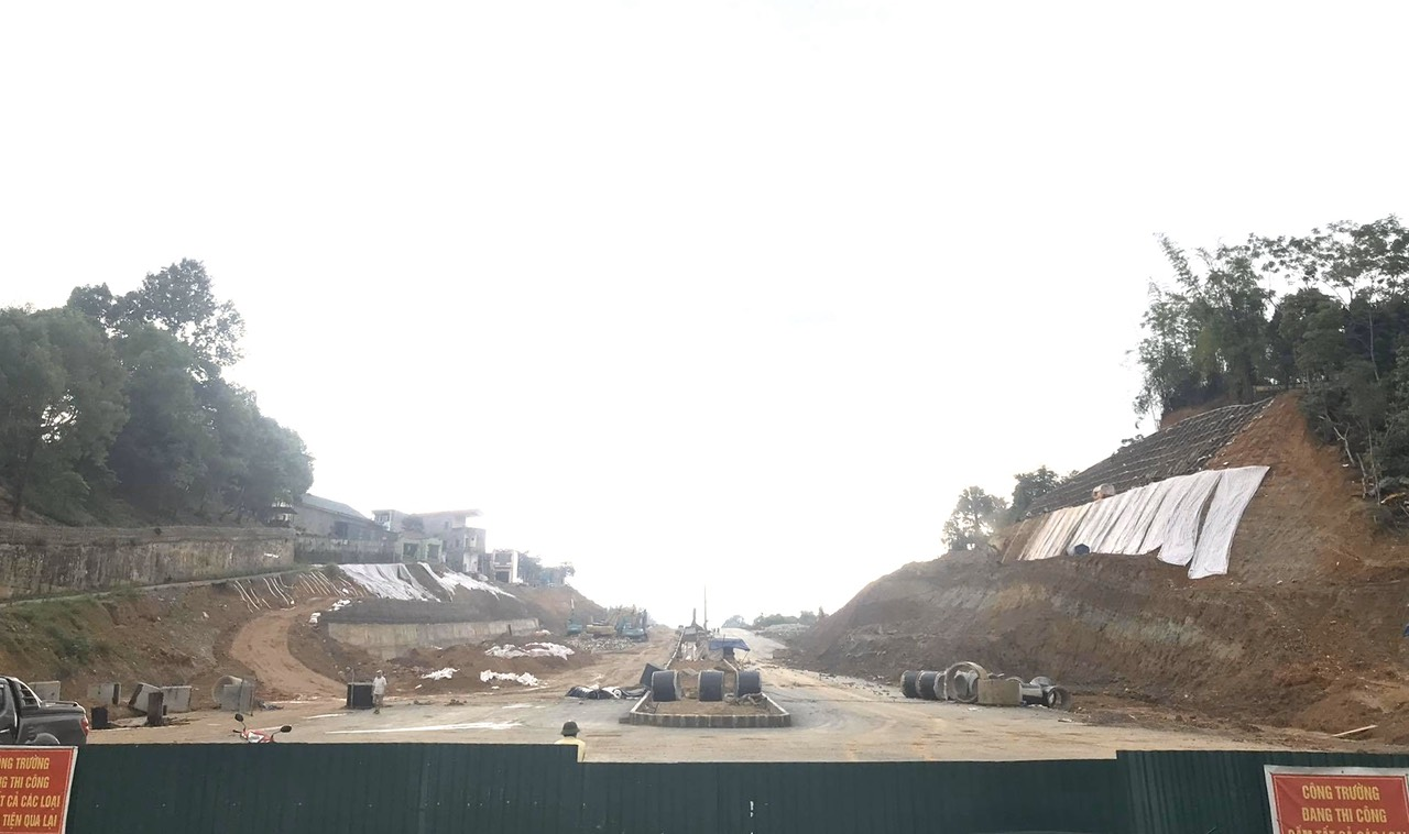 Dự án đường phía Nam khu đô thị mới Thành phố phấn đấu hoàn thành trước ngày 30/6/2020.