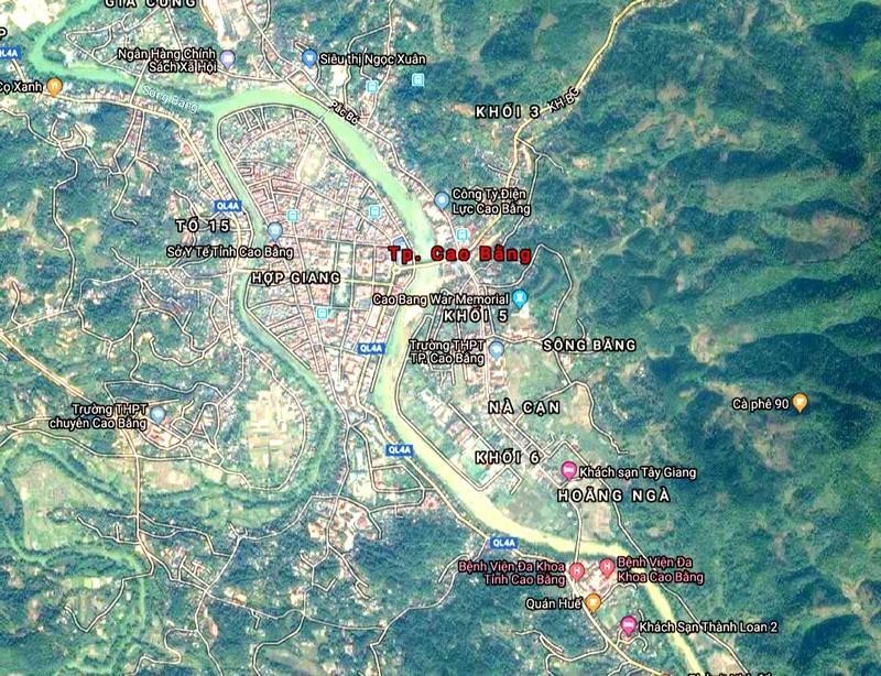 Dự án phát triển đô thị số 4A1, phường Đề Thám, TP. Cao Bằng