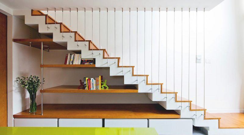 Những ý tưởng biến gầm cầu thang thành không gian trong nhà