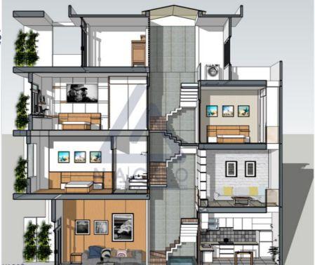 Kiến trúc nhà lệch tầng trong phong thủy và cách hóa giải
