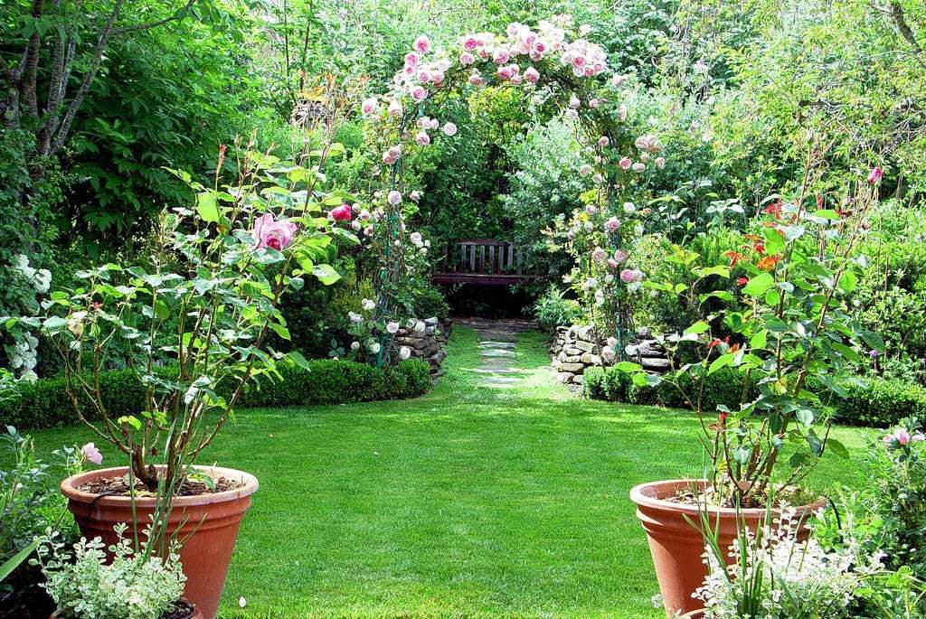 Khu vườn hợp phong thủy giúp thu hút tài lộc