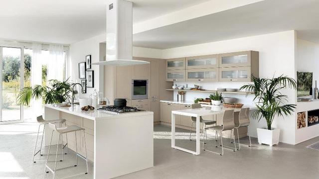 Những mẫu nhà bếp cho bà nội trợ hiện đại