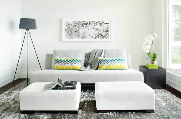 Mẹo trang trí phòng khách thông minh cho căn nhà có diện tích nhỏ.