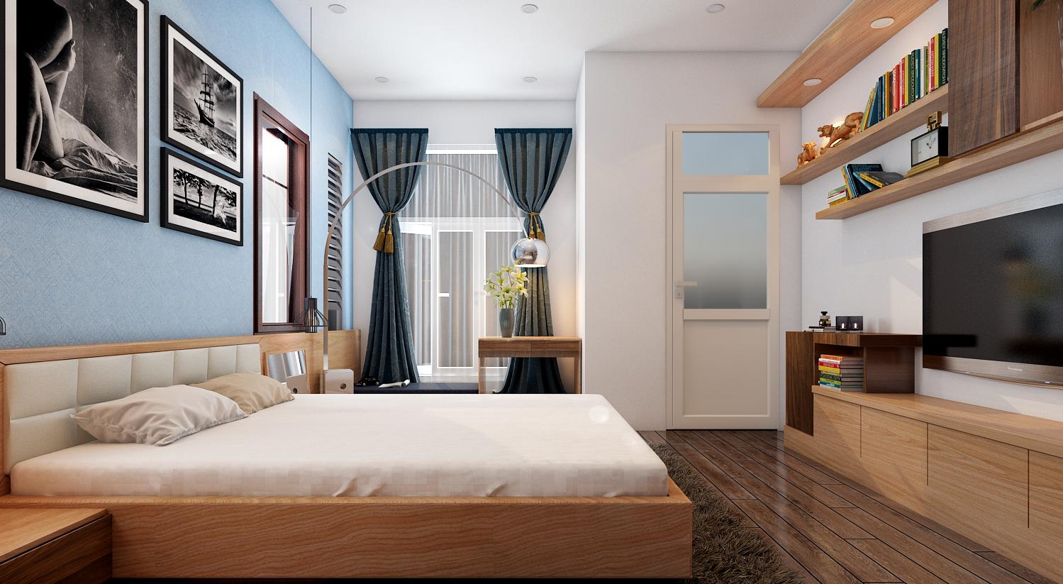 Trang trí phòng ngủ hợp phong thủy để có giấc ngủ ngon