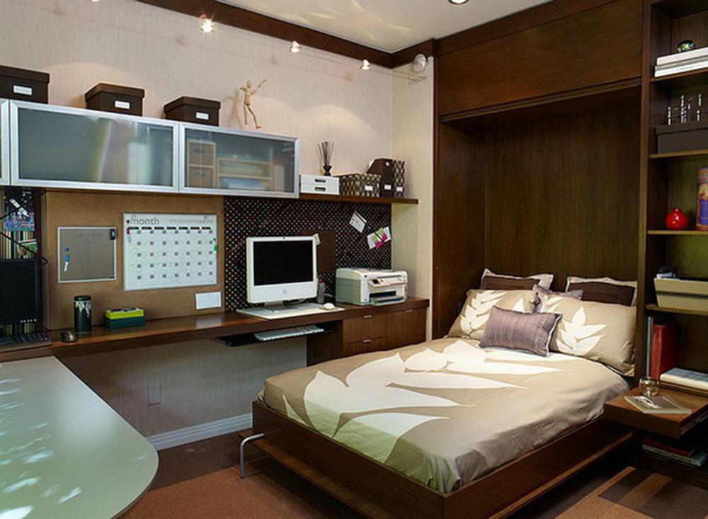 Phòng ngủ chung phòng làm việc có hợp phong thủy không?