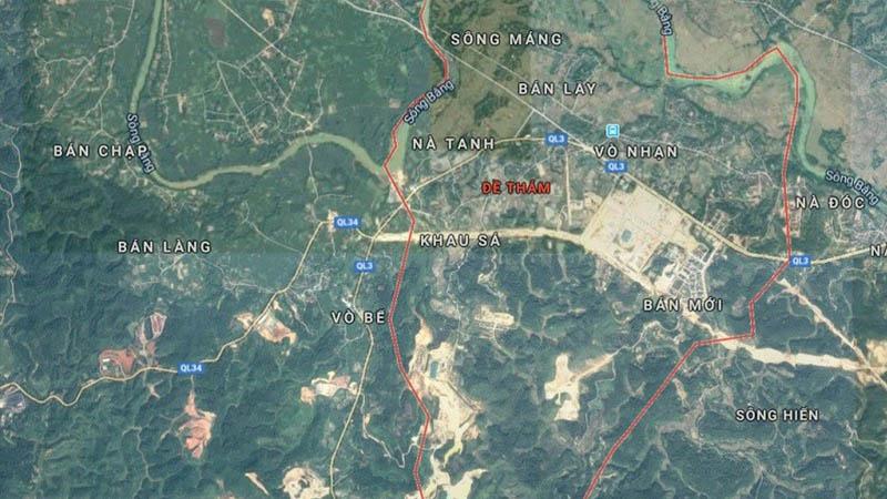 Dự án phát triển đô thị số 4A1 phường Đề Thám, TP Cao Bằng